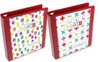 Math Equation Binder Insert Set