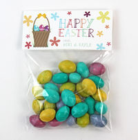 Egg Basket Easter Candy Bag Toppers