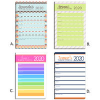 2020 Notepad Selection