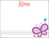 Dotted Butterfly Note Card