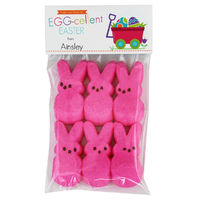 Easter Eggs Wagon Candy Bag Toppers