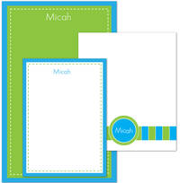 Blue Green Pad Set