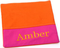 Hot Pink & Orange Sandwich Bag