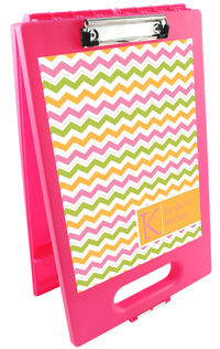 Colorful Chevron Clipboard Storage Case