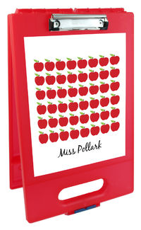 Ample Apples Clipboard Storage Case