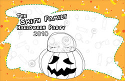 Candy Treats Pumpkin Paper Placemats