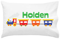 Choo Choo Train Pillowcase