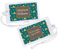 Camp Grounds Luggage Tag