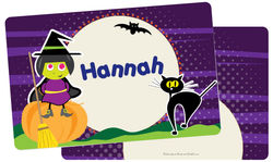 Broomstick Witch Placemat