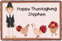 Thanksgiving Boy Placemat CPM