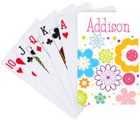 Flower Bunch Playing Cards