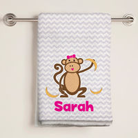 Plain Old Girly Bananas Bath Towel