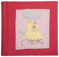 Mouse Girl Photo Album Pink
