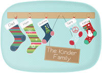 Stockings Family Platter