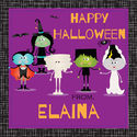 Ghoulish Friends Gift Stickers