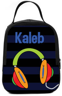 Awesome Headphones Lunch Box