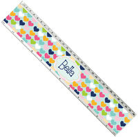 Plenty Hearts Acrylic Ruler