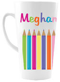 Color Pencils Ceramic Coffee Mug