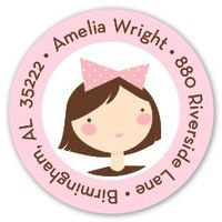 Amelia's Party Label LST1001-10242