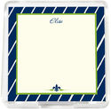 Navy Stripes Mini Memo Sheets