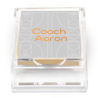 Basketball Court Coach Sticky Note Holder