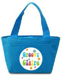Very Groovy Insulated Lunch Tote