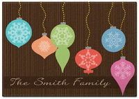 Bright Ornaments Glass Cutting Board
