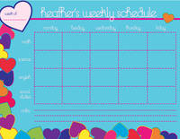 Bright Hearts Homework Chart
