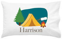 Camp Grounds Pillowcase