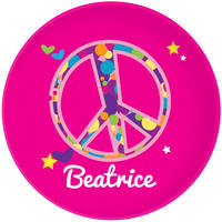 Bubble Peace Plate