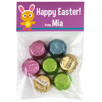 Chicky Bunny Easter Candy Bag Toppers