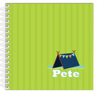 Blue Tent Journal | Notebook