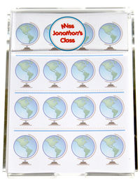 Global Teacher Memo Sheets