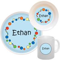 Bubbles Boy Melamine Set