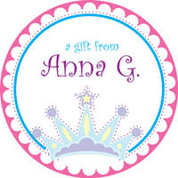 Little Princess Gift Stickers