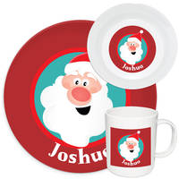 Jolly Santa Melamine Set
