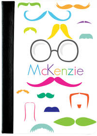 Bright Moustaches iPad Case