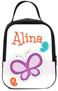 Dotted Butterfly Lunch Box
