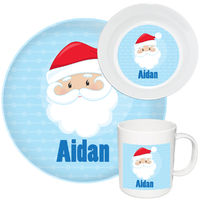 Happy Santa Melamine Set