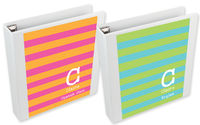 Lime Blue Blocks Binder Insert Set