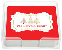 Holiday Trees Coasters