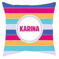 Bright Stripes Autograph Camp Pillow