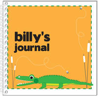 Alligator Chomp Journal | Notebook