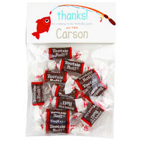 Gone Fishing Birthday Party Candy Bag Favors