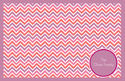 Pink Chevron Paper Placemats