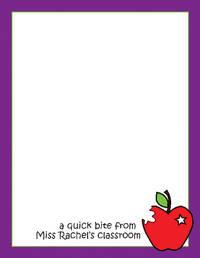 An Apple a Day Notepad