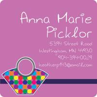 Chic Handbags Calling Card