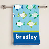 Fish Bath Towel