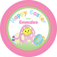 Cracked Egg Easter Stickers