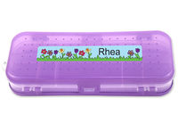 May Flowers Double-Sided Pencil Case